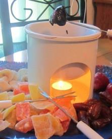 homemaker chocolate fondue set instructions