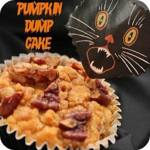 Halloween Pumpkin Dump Cake