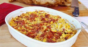 Rustic Corn and Bacon Casserole