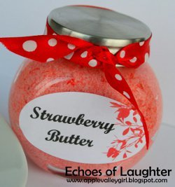Homemade Strawberry Butter