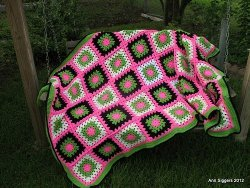 Watermelon Twist Afghan