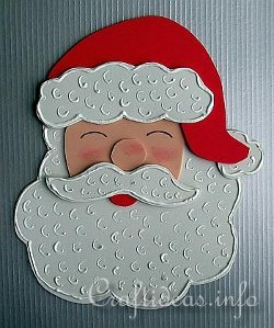 Jolly Foam Santa
