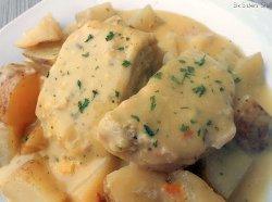 Creamy Ranch Pork Chops and Potatoes