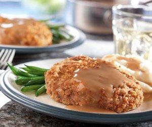 Baked Pork Chops & Gravy