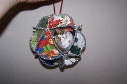 Folded Christmas Cards Ornament