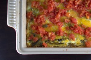 Chile Rellenos Turkey Casserole
