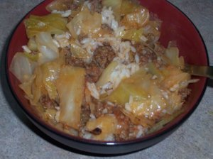 Healthy Cabbage Casserole