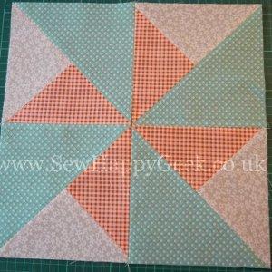 Double Pinwheel Quilt Blocks