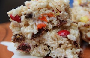 Candy Corn Rice Krispies