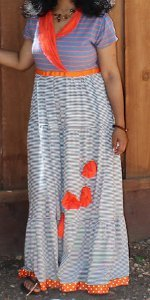 Poppy Fields Fall Maxi Dress