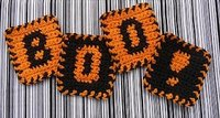12 Halloween Crafts to Crochet: DIY Home Decor, Halloween Costume Ideas, and More Read more at http://www.allfreecrochet.com/Halloween-Crochet/Halloween-Crafts-to-Crochet-DIY-Home-Decor-Halloween-Costume-Ideas-free-ebook