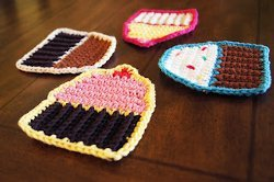 Sweet Cupcake Coasters