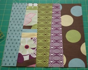 Broken Rail Fence Quilt Block