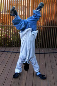 Upside-Down Man Costume