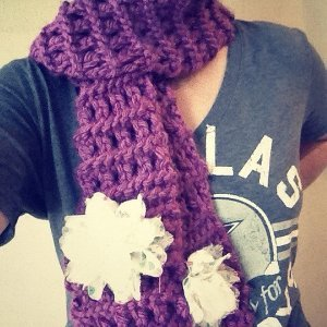Spiced Plum Scarf
