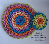Wiggly Trivet and Dishcloth Set