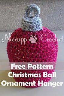 Christmas Ball Ornament Topper