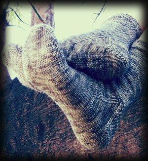 Easy Toe Up Socks