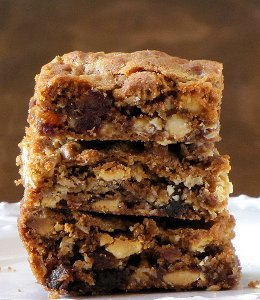 White Chocolate Date Bars