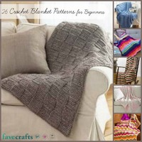 26 Free Crochet Blanket Patterns