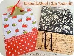 Decorative Clip Boards