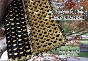 Team Spirit Baby Blanket