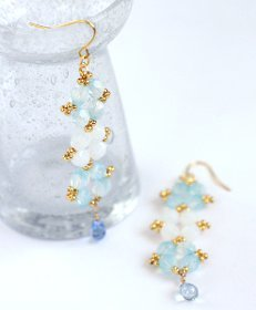 Gorgeous Goddess Beaded Earrings