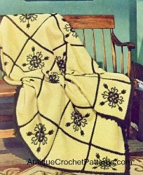 Maize Fireside Afghan