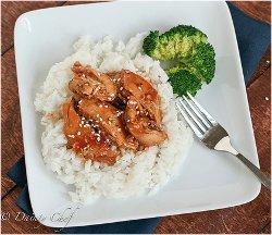 Honey Sesame Chicken for Slow Cooker