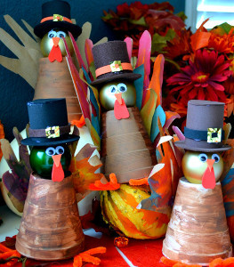 Spiffy Styrofoam Cup Turkeys