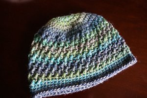 Shallow Seas Blue Beanie