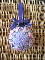 No Sew Quilted Star Ornament
