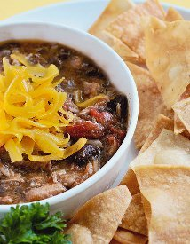 Loaded Pork Chili