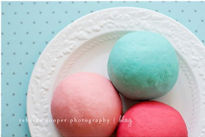 Colorful, Loveable Play Dough