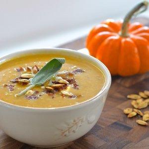 how to make pumpkin soup with fresh pumpkins
