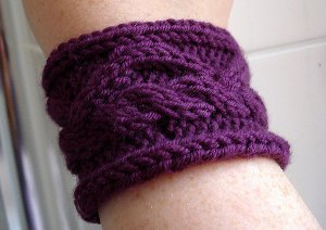 Two Hour Knit Wristband