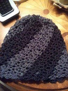 Slouchy Spiral Hat