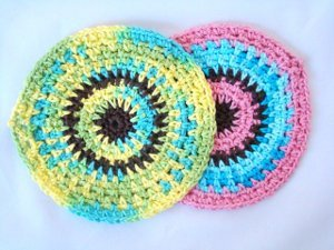 Circle Dishcloths