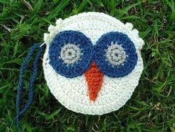 Retro Owl Purse