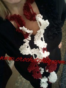 Berries in the Snow Scarf
