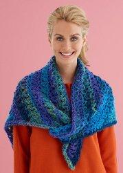 Easy Lace Triangle Shawl