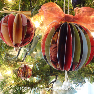 Junk Mail Ornaments