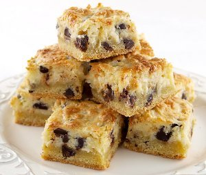 Chocolate Chip Coconut Awesome Bars