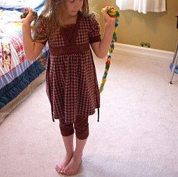 Finger Knit Jump Rope