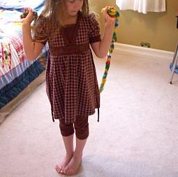 Finger Knit Jump Rope