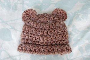 Fuzzy Bear Hat