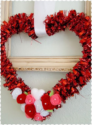 Upcycled Dollar Store Wreath