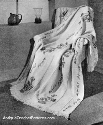 Queen Anne Blanket