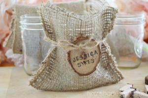 Mason Jar Gift Bags