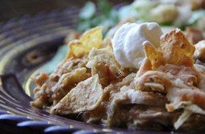 Crunchy Fiesta Chicken Casserole